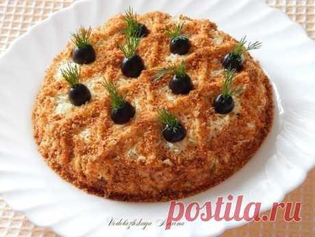 Салат «Любимый» — достоин праздника! Салат «Любимый» — достоин праздника!