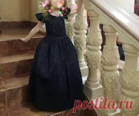Совсем не сложно сшить платье для маленькой принцессы | Идеи рукоделия | Яндекс Дзен