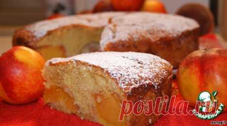 Пирог с нектаринами (по рецепту от Рут Оливер)