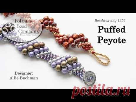 Puffed Peyote Stitch Tutorial
