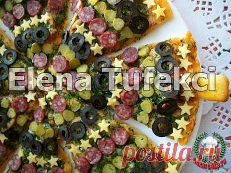 Пицца «Новогодняя» | 4vkusa.ru