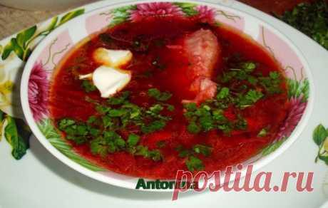 (+1) тема - Свекольный суп | Любимые рецепты