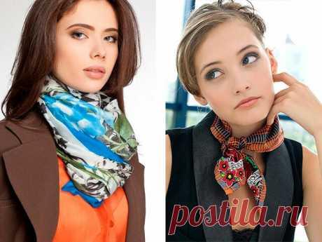 6 способов ношения платков: модные городские тенденции | Дом, работа, хобби | Яндекс Дзен