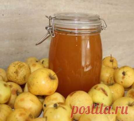 Яблочный «мёд» Натуральный пектин, содержащийся в яблочной кожуре придаст со временем сиропу структуру желе. Ингредиенты: Яблоки — 2.5 кг Сахар — 1 кг Вода Приготовление: Нарезаем яблоки на четвертинки вместе с сердцевиной...