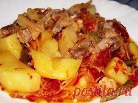 The fragrant ragout which is fallen in love by much for the unsurpassed taste and aroma!