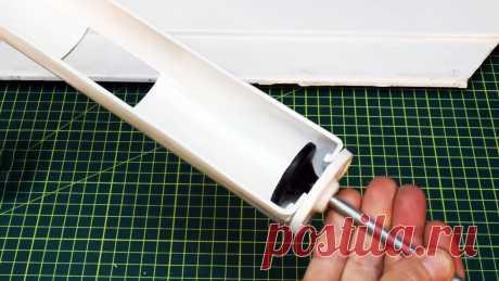 Как из ПВХ трубы сделать пистолет для герметика под шуруповерт Если вы часто и помногу используете герметики, то вам хорошо знакома усталость в руке от постоянного сжимания рычага пистолета. Гораздо удобней, если он будет не простым механическим, а электрическим с приводом от шуруповерта. В таком случае герметик сможет выжиматься при нажатии кнопки. Сделать