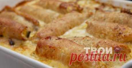Ruletiki de carne - la receta sabrosa con poshagovym la foto