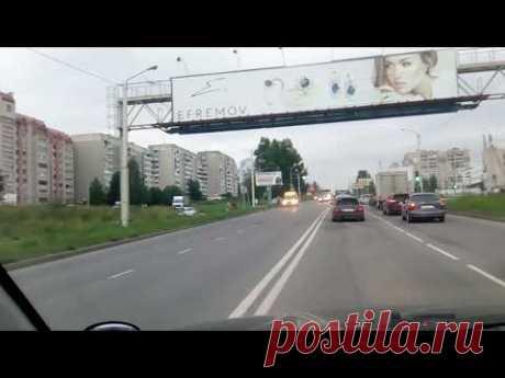 Кострома ул. Магистральная 21.07.2018 - YouTube