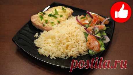 Два блюда в мультиварке одновременно, рыба с рисом на обед или ужин, простой рецепт на второе | Мультиварка простые рецепты! | Яндекс Дзен