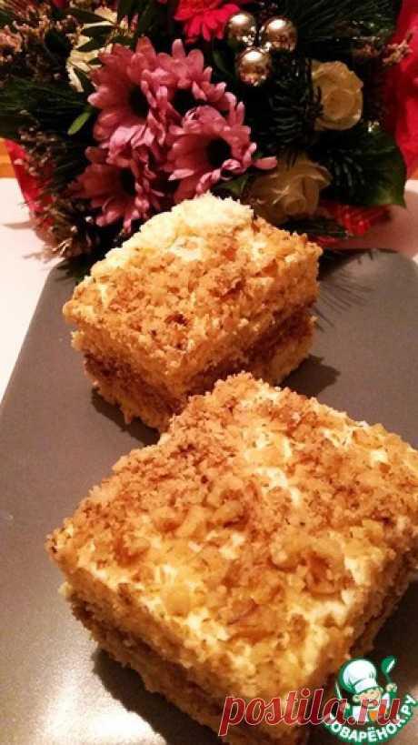 Cake nut - the culinary recipe
