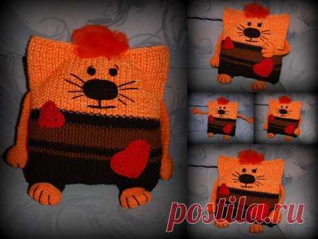 Мартовский кот (подушка) Скоро же весна! :)