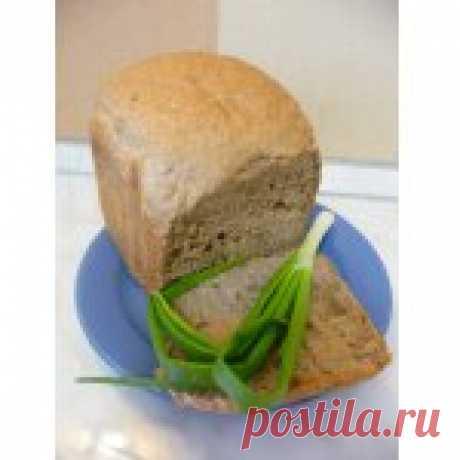 Хлеб пшенично-ржаной с семечками (рецепт для ХП) Кулинарный рецепт