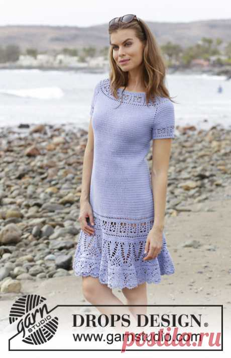 Платье крючком Queensland - блог экспертов интернет-магазина пряжи 5motkov.ru