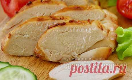 Сочная куриная грудка, запеченная в духовке | Домашний Ресторан