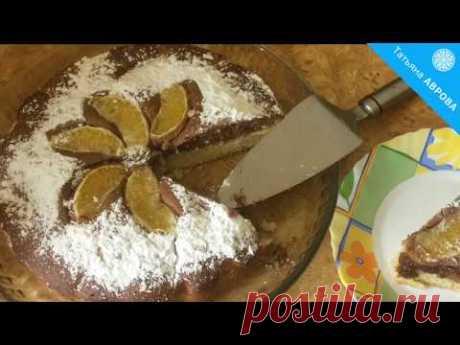 Изумительный пирог с апельсинами - отличная альтернатива любому торту