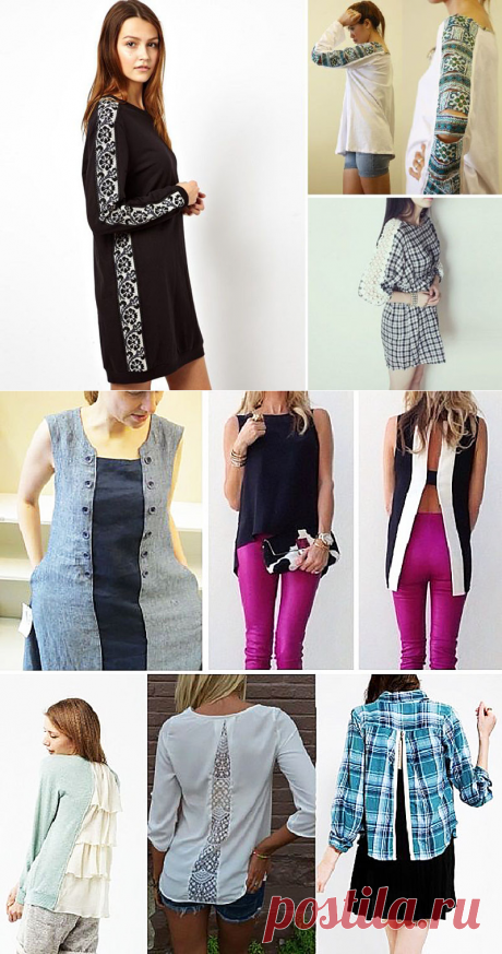 Notable tricks! How to expand or extend clothes: options and ideas for realization