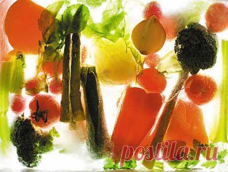 Запасы на зиму: как правильно заморозить овощи и фрукты