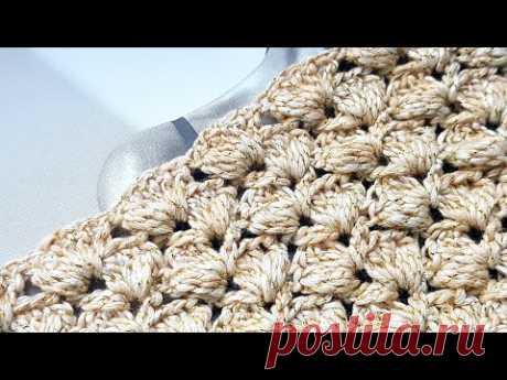 3D узор крючком 🌶 3d crochet pattern. tejer. strickmuster.