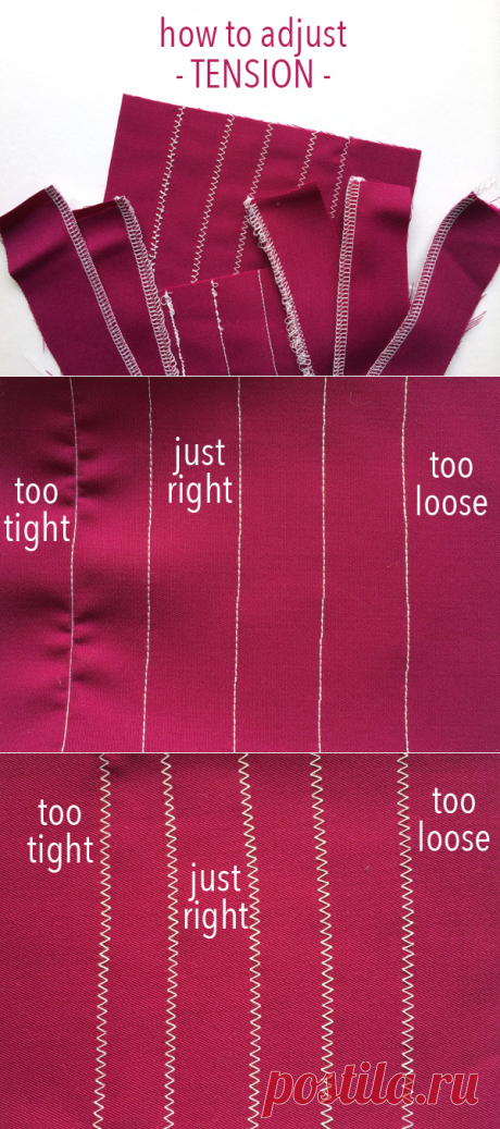 How to Adjust Sewing Machine Tension on Craftsy
