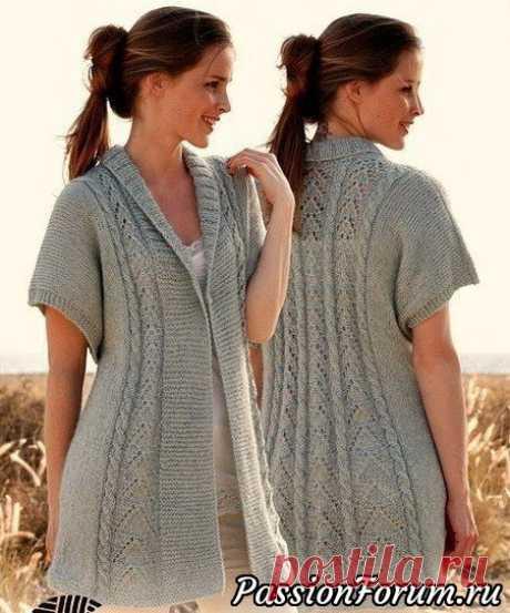 Вязание для женщин спицами. Схемы вязания спицами - Страница 12