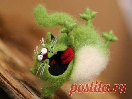 10 игрушек, при виде которых невозможно сдержать улыбку | Ярмарка Мастеров•livemaster.ru | Яндекс Дзен
