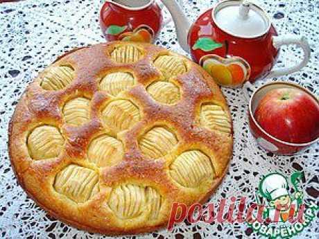 """Пирог с яблоками """"Восхитительный-2"""" - кулинарный рецепт"""