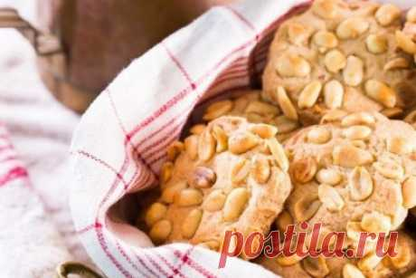 Круглое ореховое печенье - Печенье