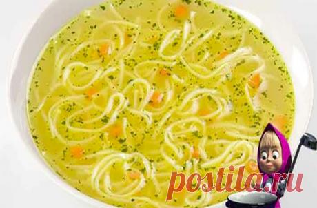 Куриный суп с яйцом и вермишелью быстро и без хлопот!   Блоги о даче и огороде, рецептах, красоте и правильном питании, рыбалке, ремонте и интерьере