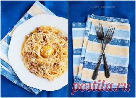 Знаменитая паста родом из Рима — Spaghetti alla Carbonara — Фактор Вкуса