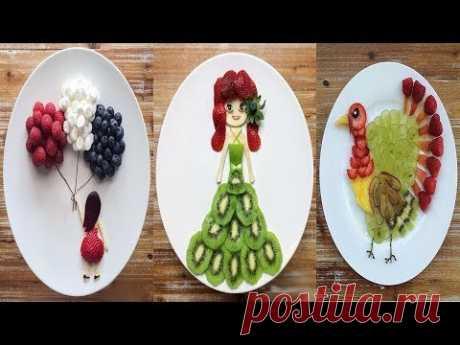 34 Tricks With Fruits And Veggies - Creative Food Art Ideas