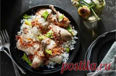 Черкесская курица. Рецепт от Клаудии Роден