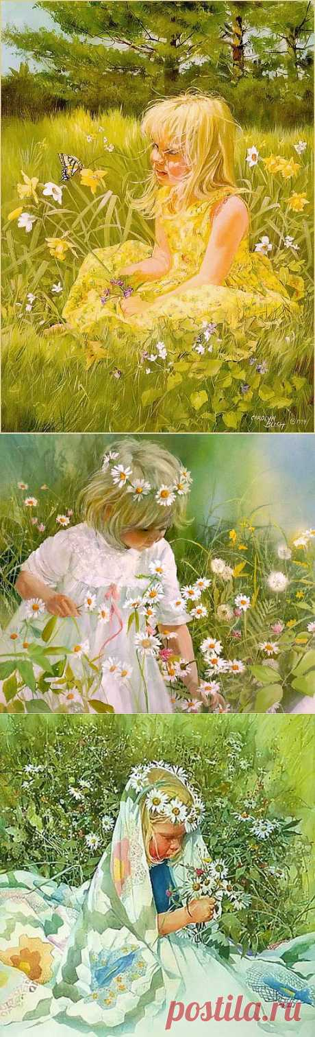 Дети лета - чудесные картины Carolyn Blish.