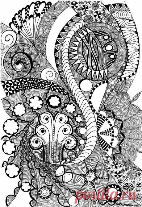 Zentangles and Art
