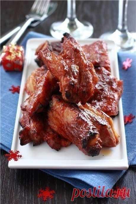 Как приготовить свиные ребрышки по-канадски. - рецепт, ингредиенты и фотографии