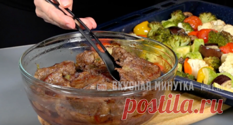 Овощи в духовке. Готовлю на гарнир к своему любимому мясу на Пасху | Кухня наизнанку | Яндекс Дзен