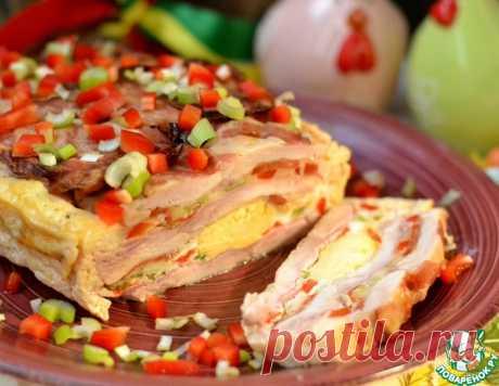 Пасхальная мясная запеканка – кулинарный рецепт