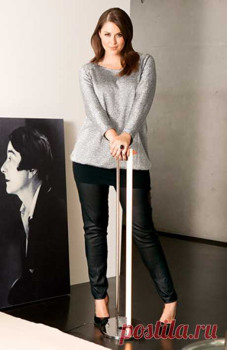 Пуловер - выкройка № 139 из журнала 10/2013 Burda – выкройки пуловеров на Burdastyle.ru