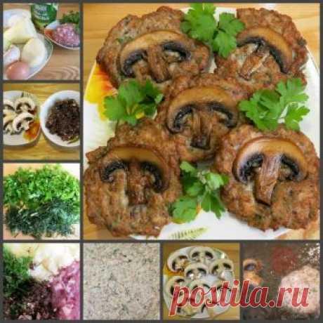 Как приготовить котлеты грибная поляна - рецепт, ингредиенты и фотографии