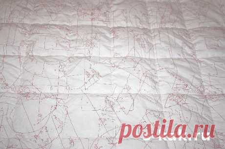 Como hacer el acolchado de la manta o el velo | PREGUNTA, COMO...