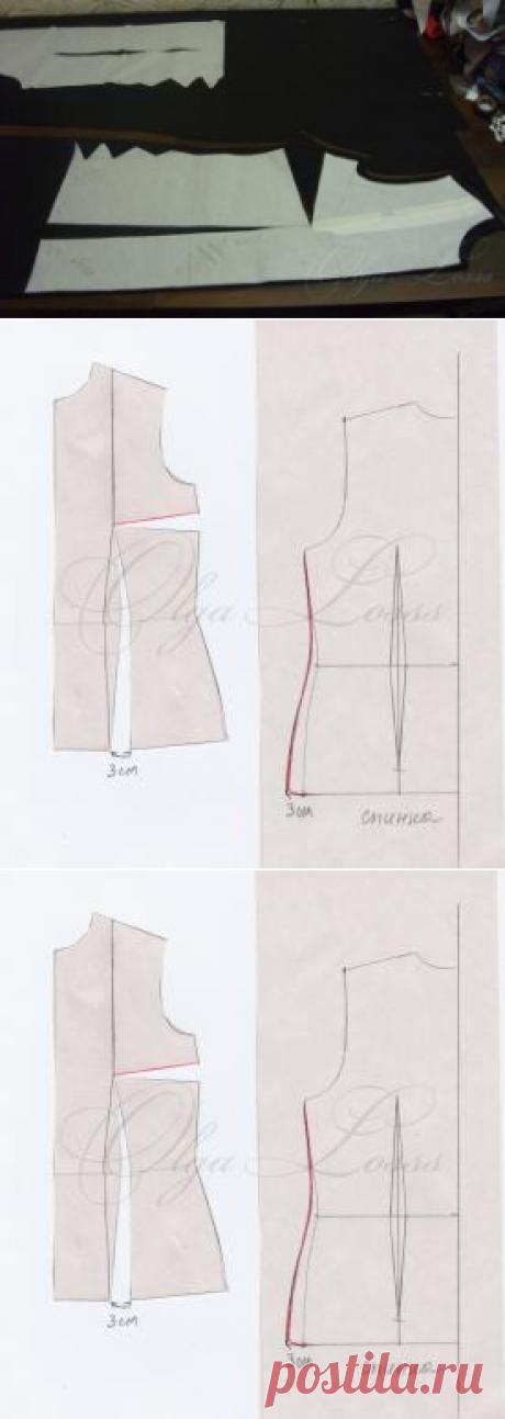 Моделирование трикотажного платья  из обычной основы. Основные принципы, приемы и наработанные хитрости - Клуб Сезон