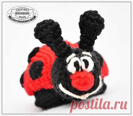 Бесплатный мастер-класс Божья коровка - CrochetToys. Игрушки ручной работы