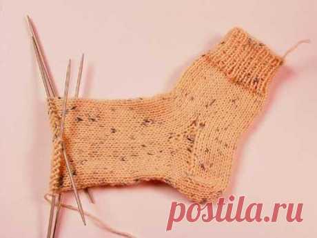 Техника вязания. Учимся вязать носки
