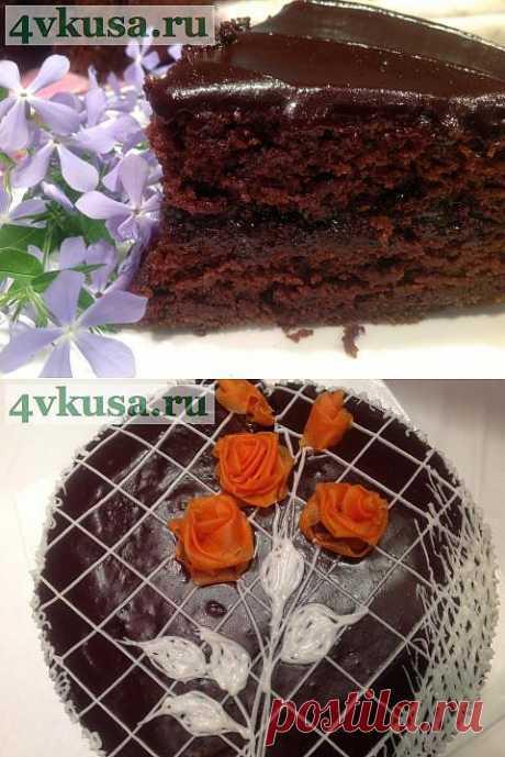 """Crazy cake"" (Сумасшедший пирог) | 4vkusa.ru"