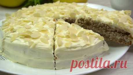 "Торт ""Загадка"": рецепт из ресторана"