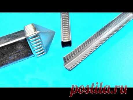 Шикарный станок для профильной трубы!Достойный вариант для мастерской!Genious DIY tool - YouTube
