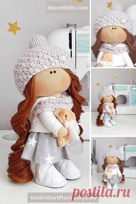 Tilda Custom Doll Doll Gift for Girl from Mom and Grandma | Etsy