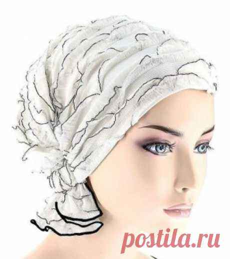 Шьём оригинальный головной убор   Оригинальный,модный и красивый головной убор к весне можно сшить своими руками .    Идеи для вдохновения:                  источник