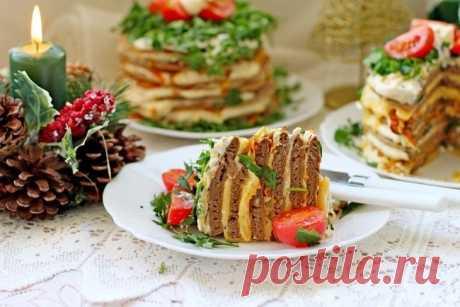 Печёночные мини-торты - Пошаговый рецепт с фото своими руками Печёночные мини-торты - Простой пошаговый рецепт приготовления в домашних условиях с фото. Печёночные мини-торты - Состав, калорийность и ингредиенти вкусного рецепта.