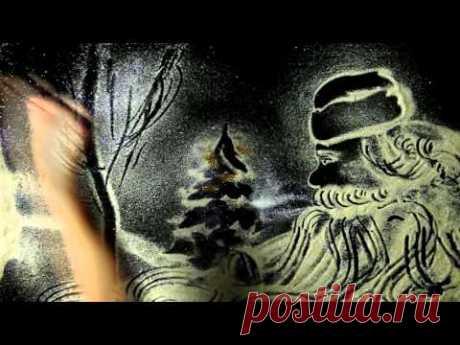 С Новым годом! Снежная Анимация Виктория Пархоменко