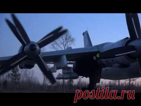 Учение стратегических ядерных сил - Ту-95МС - YouTube